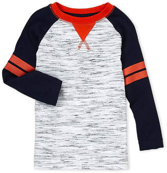 French Toast (Infant Boys) Injected Long Sleeve Tee