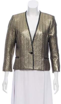 Isabel Marant Lamé Button-Up Jacket