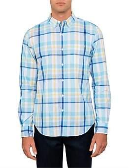 David Jones Oversized Plaid Shirt