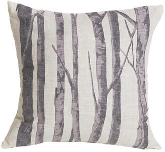 "Hiend Accents 18""x18"" Printed Branches Pillow"