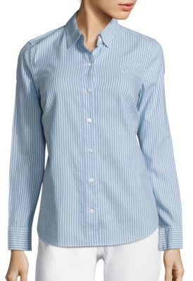 Vineyard Vines Oxford Stripe Button Down Shirt $88 thestylecure.com