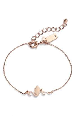 Kate Spade By The Pool Flamingo Bracelet