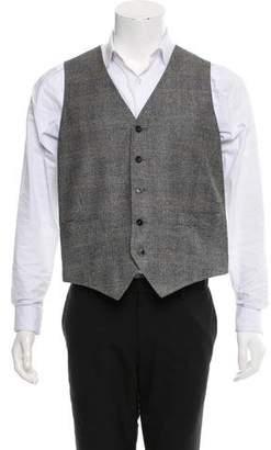 Bamford Glen Plaid Wool Vest w/ Tags