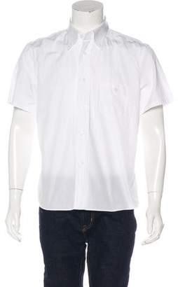 Prada Solid Woven Shirt