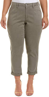 NYDJ Plus Reese Tabbouleh Relaxed Chino