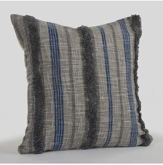 Lr Home Over tufted Striped Contemporary Nautical Throw Pillow