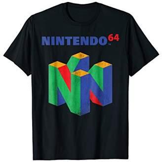 Nintendo 64 Classic Retro Vintage Logo Graphic T-Shirt