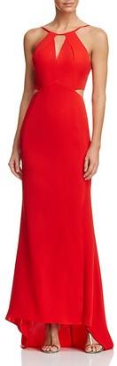 AQUA Cutout Gown - 100% Exclusive $168 thestylecure.com