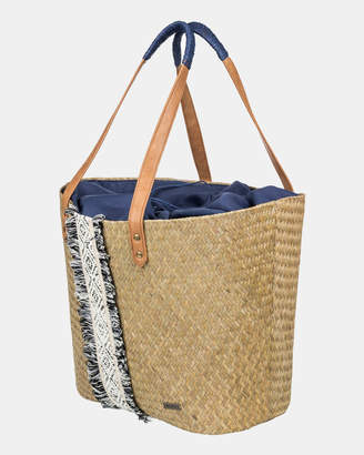 Roxy Pretty Love Straw Beach Bag