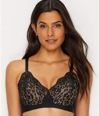 Warner's Women's lace escape wire-free contour with allover lace bra, style ro3301a
