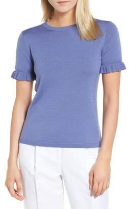 Lewit Tie Back Merino Wool & Silk Sweater