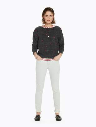 Scotch & Soda All-over Embroidered Sweatshirt