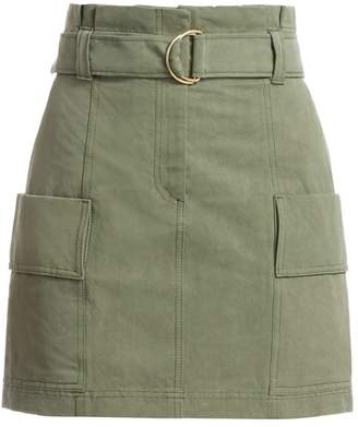 A.L.C. Kai Belted Cargo Mini Skirt