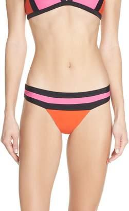 Pilyq Colorblock Banded Bikini Bottoms