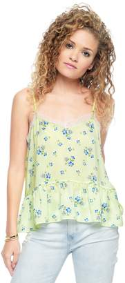Juicy Couture Lace Slip Solid Tank Top