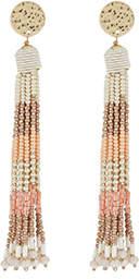 Accessorize Ombre Beaded Tassel Earrings