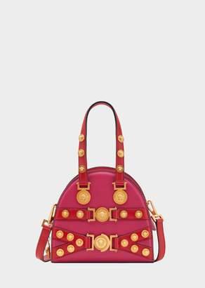Versace Small Tribute Medallion Handbag