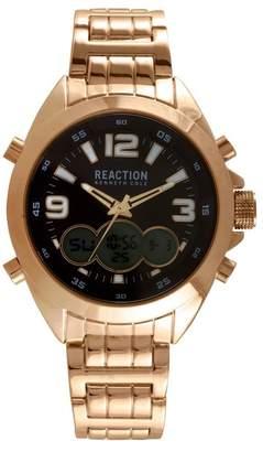 Kenneth Cole Reaction Men's Ana-Digit Bracelet Watch, 46.5mm
