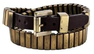 Michael Kors Heritage Double Wrap Watch Link Bracelet
