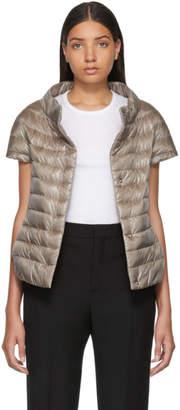 Herno Taupe Down Emilia Jacket