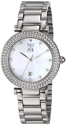 Jivago Women's JV5310 Parure Analog Display Quartz Silver Watch