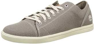 Timberland Men's Newmarket-Fulk LP Canvas Oxford, Greige