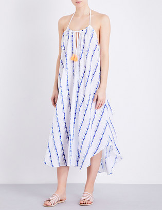 Heidi Klein Folly Island cotton-muslin maxi dress $275 thestylecure.com