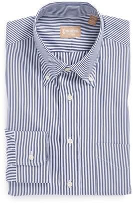 Gitman Regular Fit Bengal Stripe Cotton Broadcloth Button Down Dress Shirt