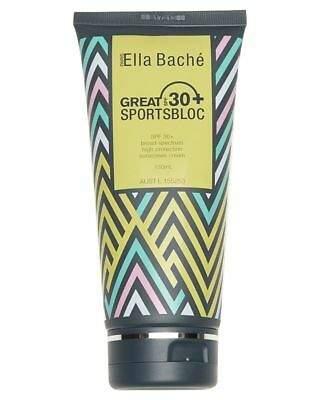 Ella Bache Men's Great Spf 30 Plus Sportsbloc Sunscreen 130Ml Natural