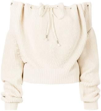 Calvin Klein off shoulder pullover