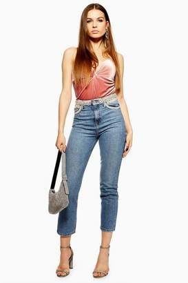 Topshop Pearl Straight Leg Jeans