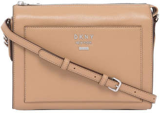 DKNY R84EA932 Hutton Zip Top Crossbody Bag