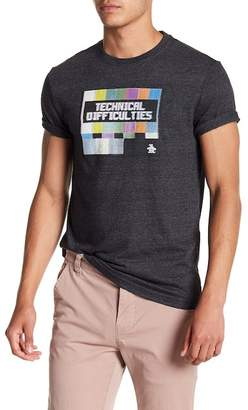 Original Penguin Technical Difficulties Tee