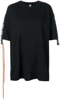 e44732f1107 Mia-Iam logo strap T-shirt dress
