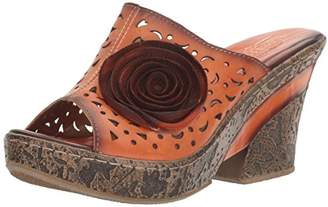 Spring Step L'Artiste by Women's Amara-or Wedge Sandal