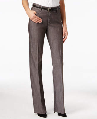 Lee Platinum Madelyn Straight-Leg Trousers $56 thestylecure.com
