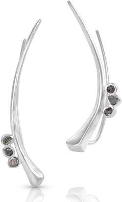 Black Diamond Enji Studio Jewelry Raw Kai Earrings