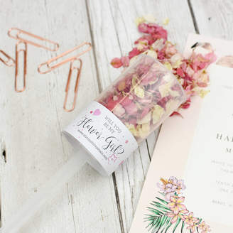 Shropshire Petals Will You Be My Flower Girl Confetti Pop, Proposal