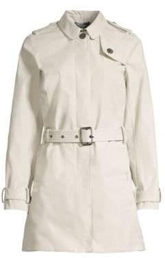 Barbour Women's Tartan Quarry Belted Jacket - Mist - Size 6