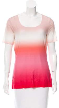 Wolford Ombré Short Sleeve Top