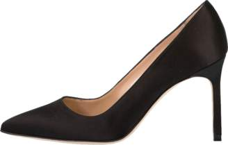 Manolo Blahnik Satin BB Pump