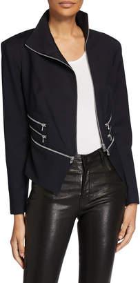 Chelsea and Walker Multi-Zip Blazer Jacket