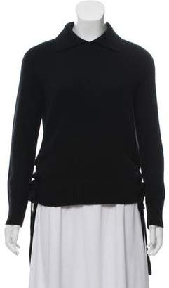 Frame Cashmere Collared Sweater