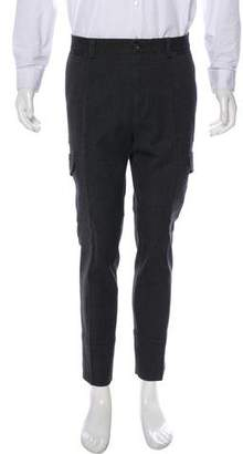 Dolce & Gabbana Twill Cargo Cropped Pants