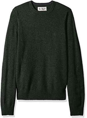 Original Penguin Men's Solid Lambswool Crew Sweater