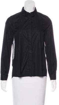 Claudie Pierlot Collared Button-Up Top