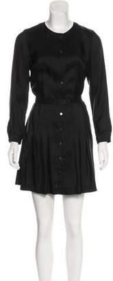 Isabel Marant Pleated Silk Dress