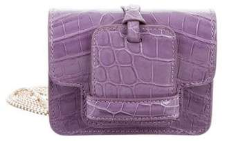 Devi Kroell Mini Crocodile Sutton Bag