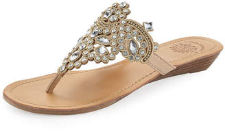 3ec5454ab Premium Collection By Yellow Box Amee Embellished Thong Sandals