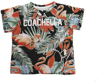 Eleven Paris Little Coachella Flamingo SS Tee